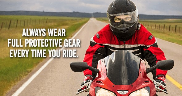 Image to go along with Motorcycle Safety